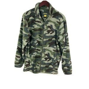 Cabela's Boys size XL Camo Fleece Jacket Hunting